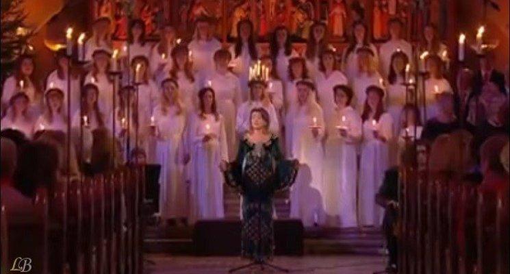 ترنيمة يا مريم البكر بصوت المغنية السويدية ماريان هولمبو