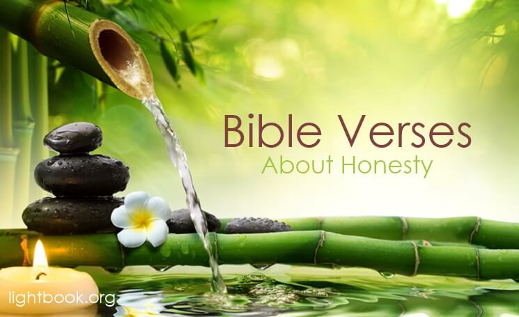 Bible Verses about Honesty in English and Arabic