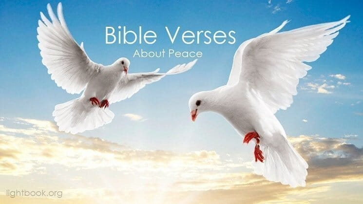 Bible Verses about Blessing and Peace ( 4 ) in English and Arabic