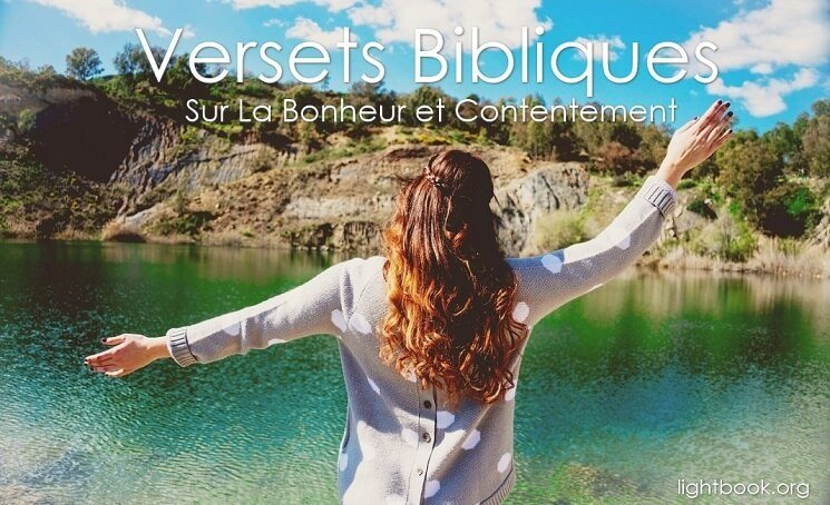 Versets Bibliques Sur La Bonheur et Contentement en Français et Arabe