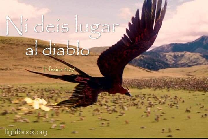 Bible Verses about Resistencia al Diablo in Spanish and Arabic