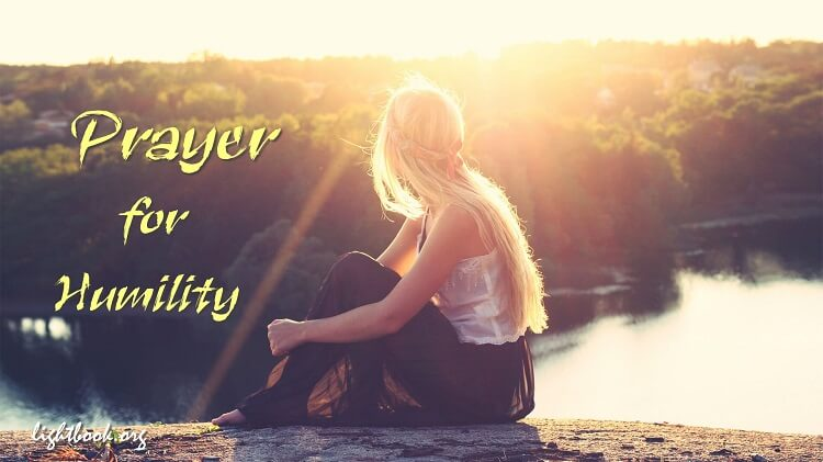 Prayer for Humility and Patience