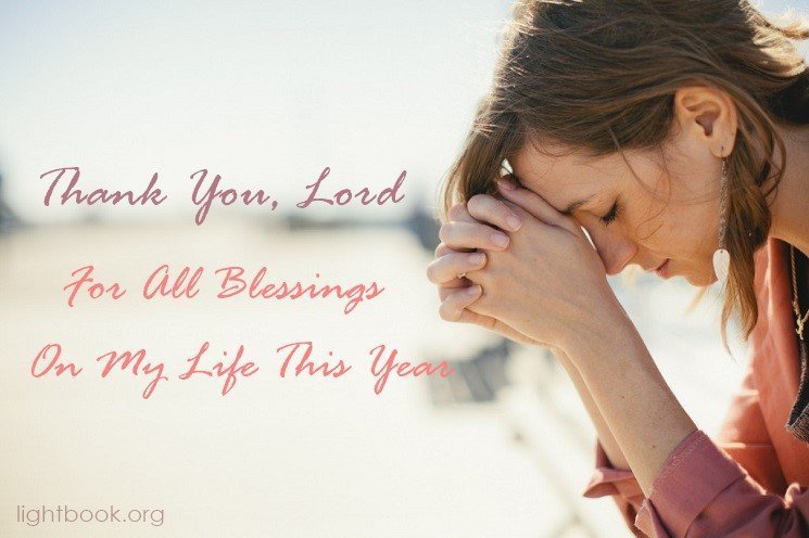 A Thanksgiving Prayer For all The Blessings On Our Lives This Year