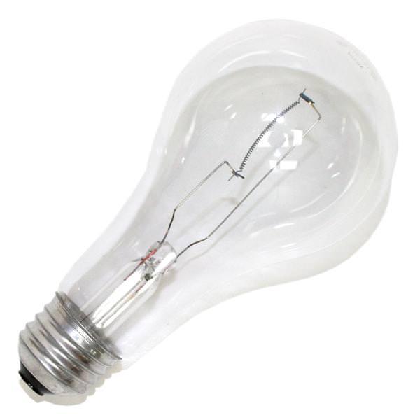 sylvania 13125 150a21 cl rp 120v a21 light bulb