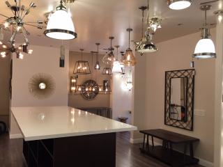 our showrooms light bulbs etc