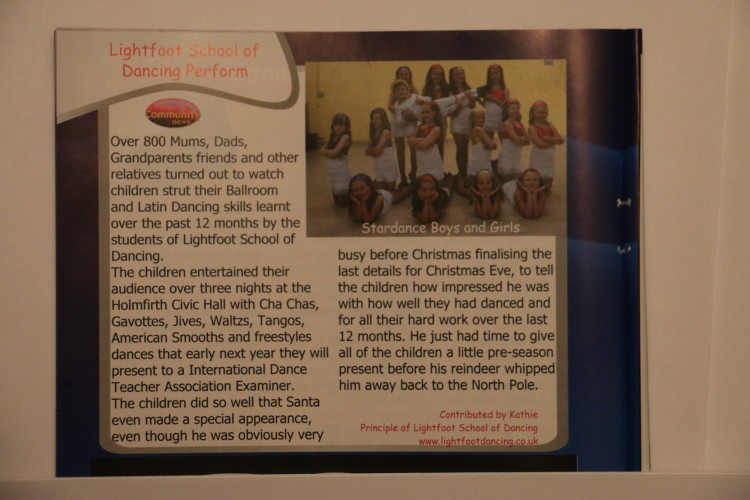 Holme Valley Community news Article