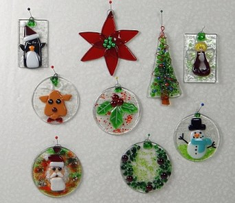 New Christmas Ornament Workshop at LightGarden Glass Art