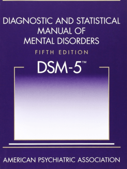 Diagnostic Statistic Manual - 5
