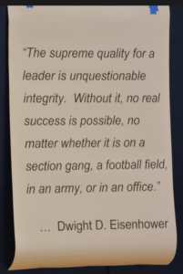 Dwight D. Eisenhower Quote