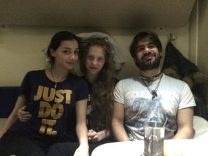 Train of magic people pt.2 - 5 - Irina, Ksusha and me