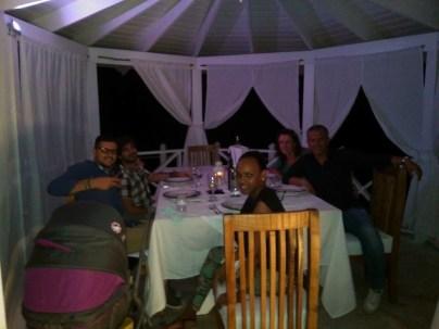 Santo Domingo - 4 - Dayana, Leonardo, me, Barbara & Mirko