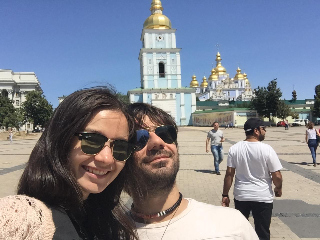 Kiev - 7 - Olga & me