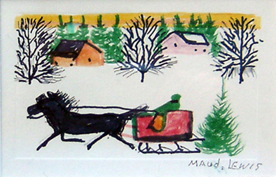 Maud Lewis Black Sheep Gallery