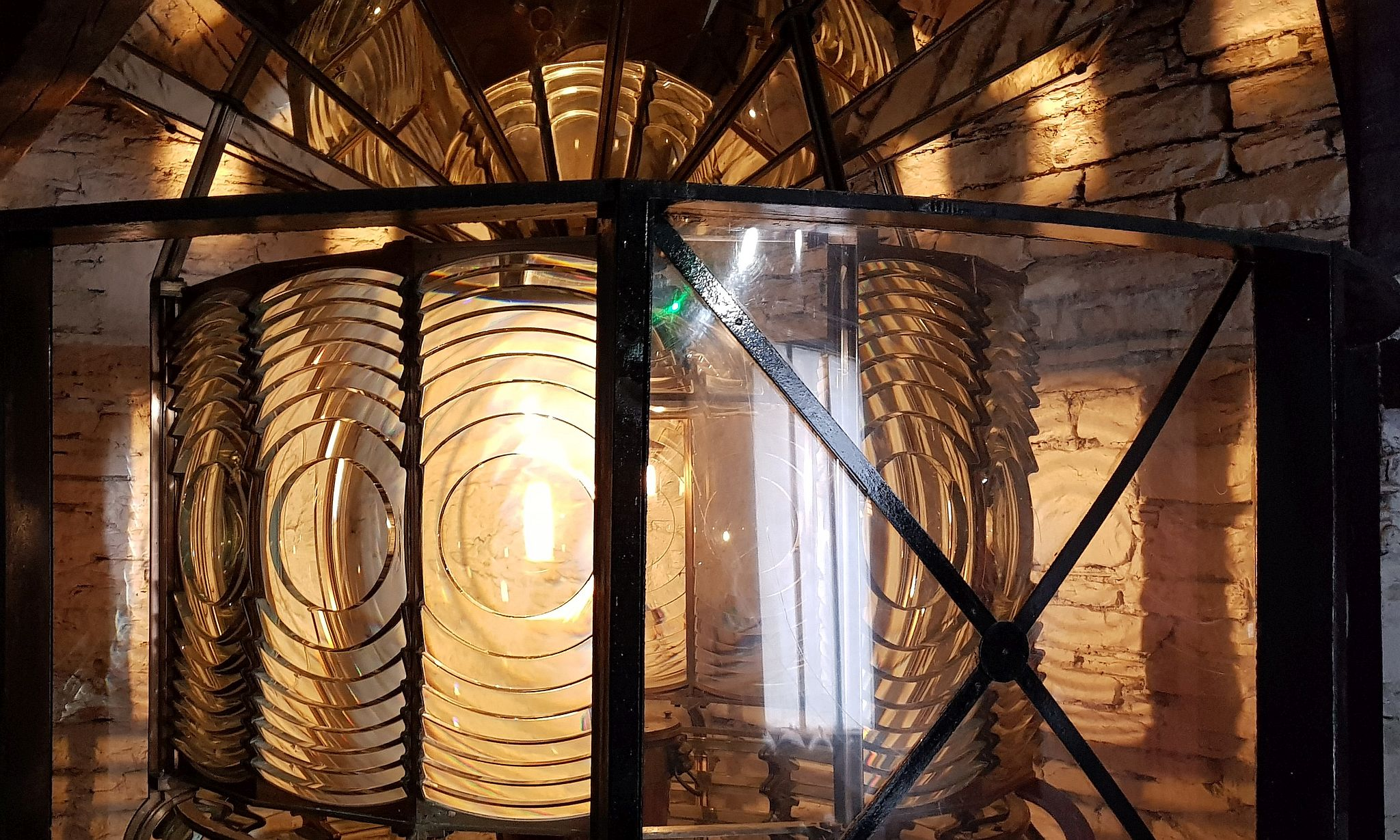 See the fresnel lens from Noss Head Lighthouse in the WIck Heritage Museum