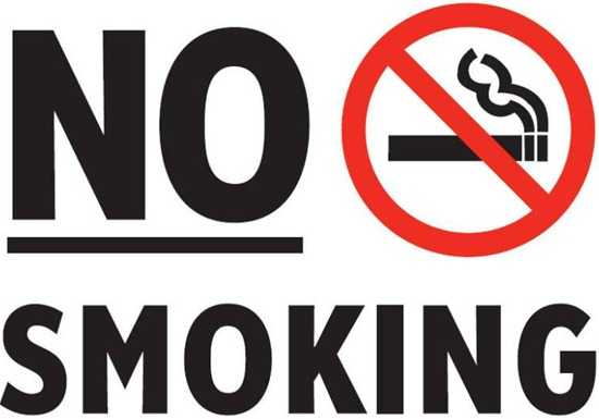 No Smoking Starting September 1, 2012