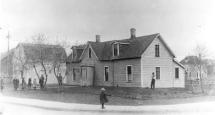 The Regina cottage hospital, 1898