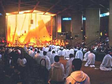 Taize Worship at the Taize Community in France