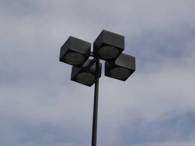 Walmart Parking Lot Lights