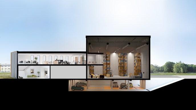 Snapshot of Coreline building interactive tour