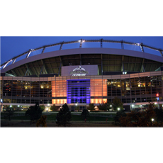 american lighting led wall washers at invesco field denver lighting sound america online news