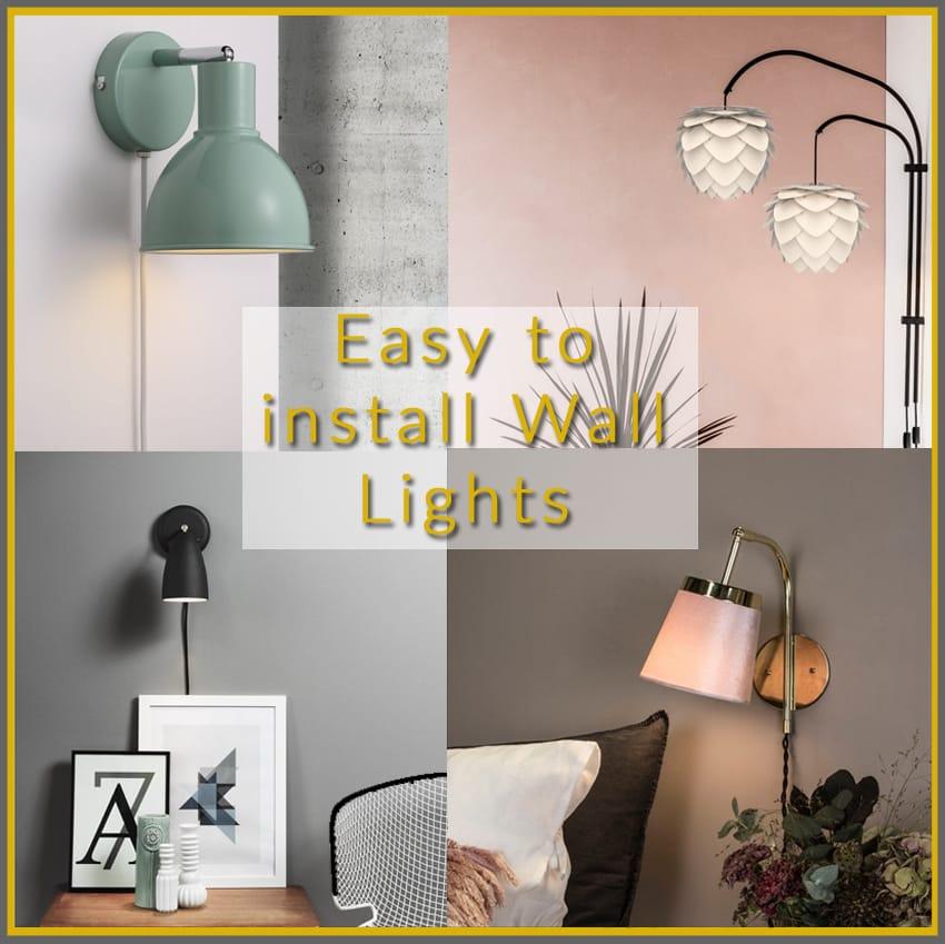 easy fit lighting plug and play