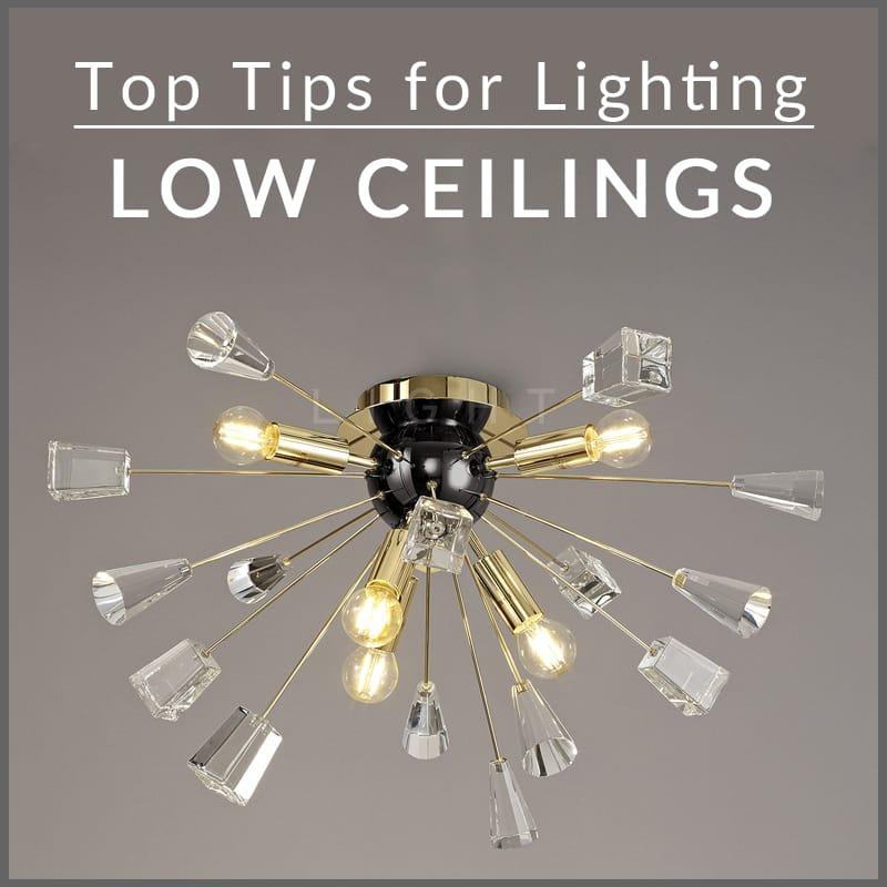 lighting low ceilings the lowdown on