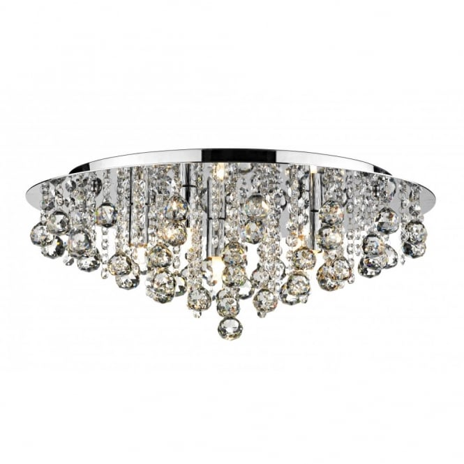 https www lightingcompany co uk pluto large chrome crystal chandelier for low ceilings p508