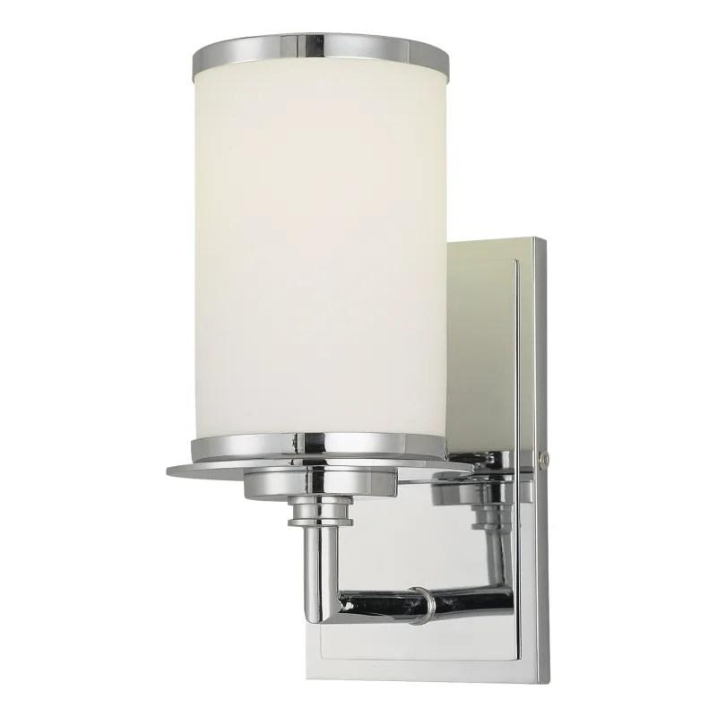 "Minka Lavery 3721-77-PL Chrome 1 Light 9.75"" Height Energy ... on Height Of Bathroom Sconce Lights id=51813"