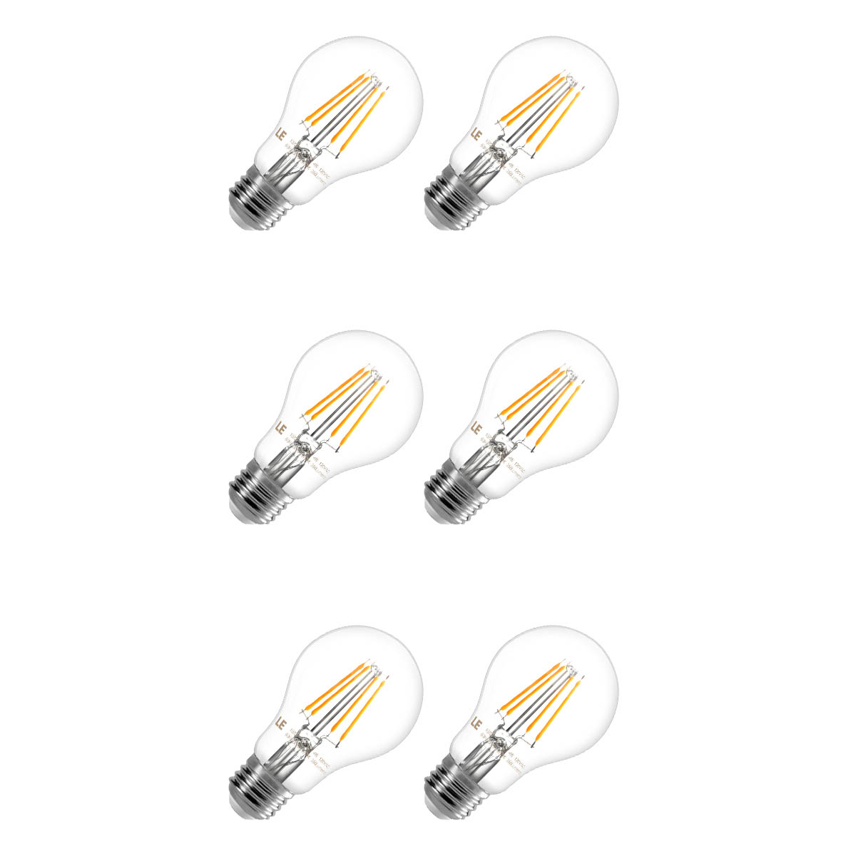 4w Warm White A19 E26 Led Light Bulbs 40 Watt Incandescent