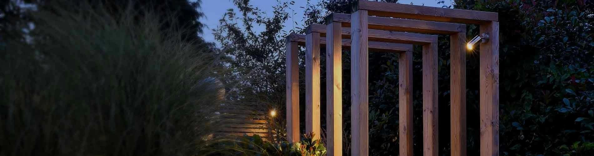 outdoor garden wall lights steplights