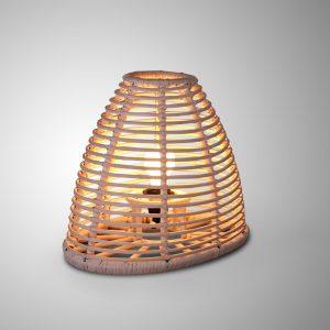 Aina Table Lamp - Natural Rattan Light Decor