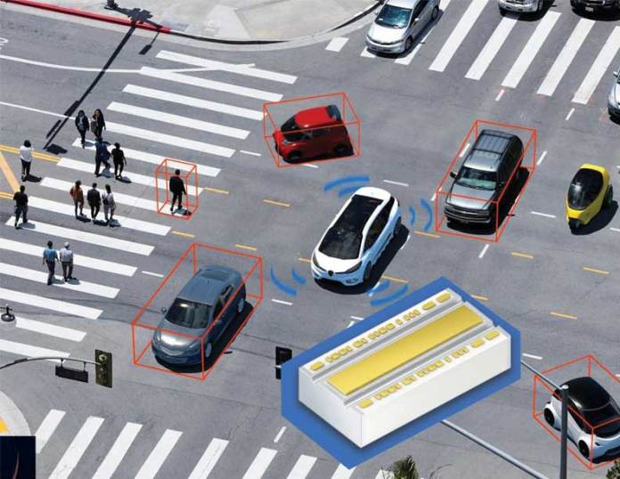 With short-range LiDAR applications, the immediate vehicle environment can be scanned reliably. Picture: Osram