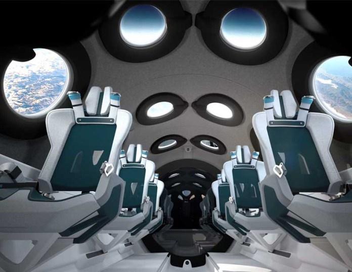 Virgin Galactic Space Lighting