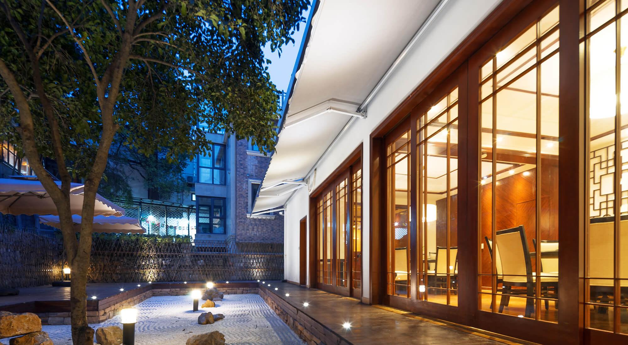 shaped modern commercial lighting