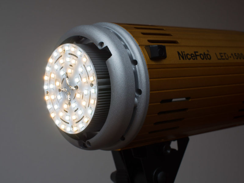 nicefoto led 1500a s mount continuous