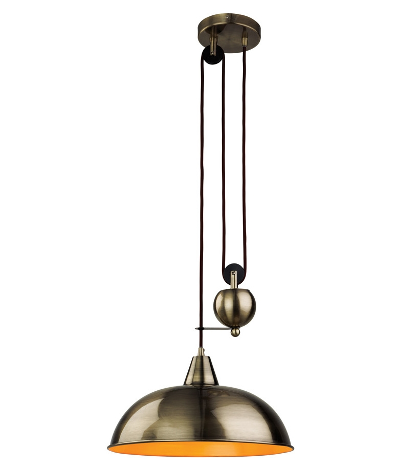 Rise And Fall Pendant Light Fittings