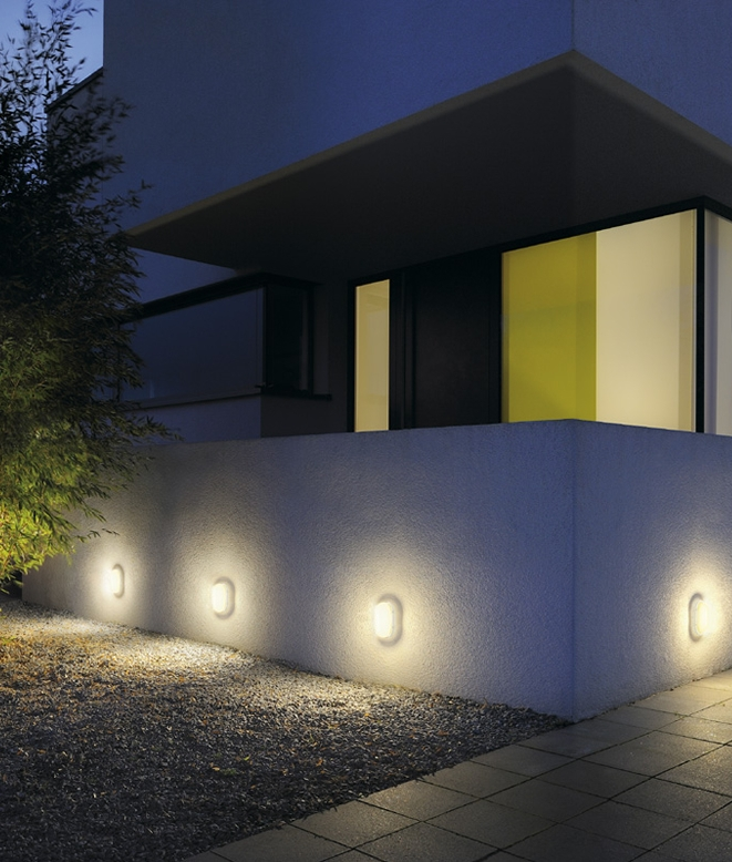 energy saving low level wall light 11w led