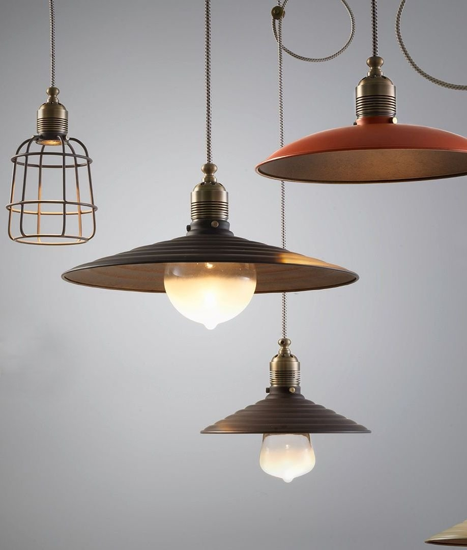 vintage style lighting pendant with modern led practicality