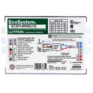 Lutron | EC3DT4MWKU1S | CFL Dimmable Ballast
