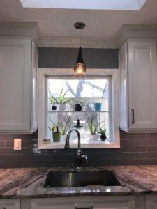 pendant lights for kitchen sink