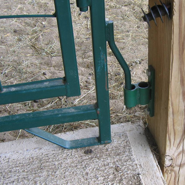 9101f-lower post / wall hinge