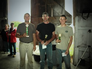 Intermediate Class medal winners 1st Jeremiah Squier, CT (middle) 2nd Nathan Good (left) 3rd Jeffery Ebel (right)