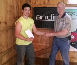 Sardis Gunther with Russ Dann from Andis