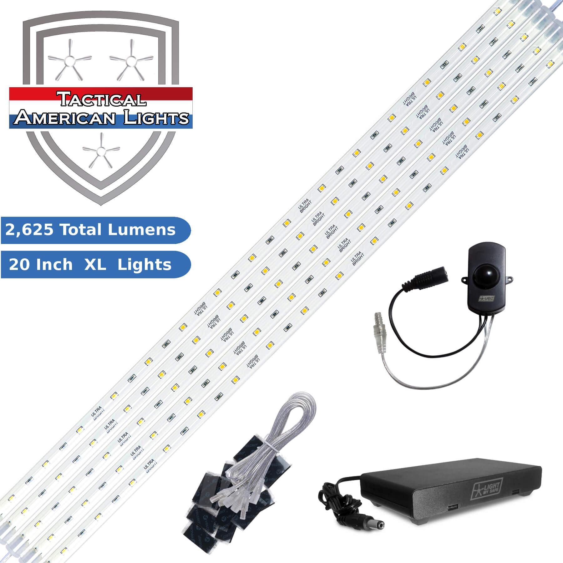 tac 2625 5 light kit d c