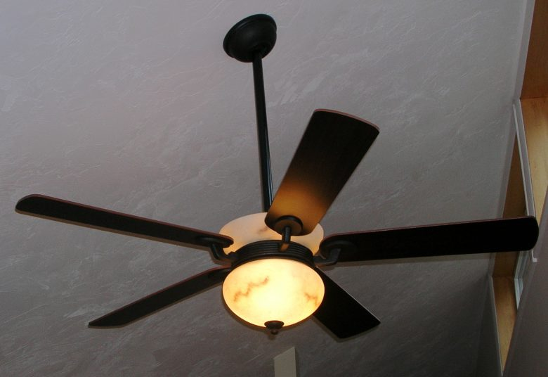 Custom a ceiling fan