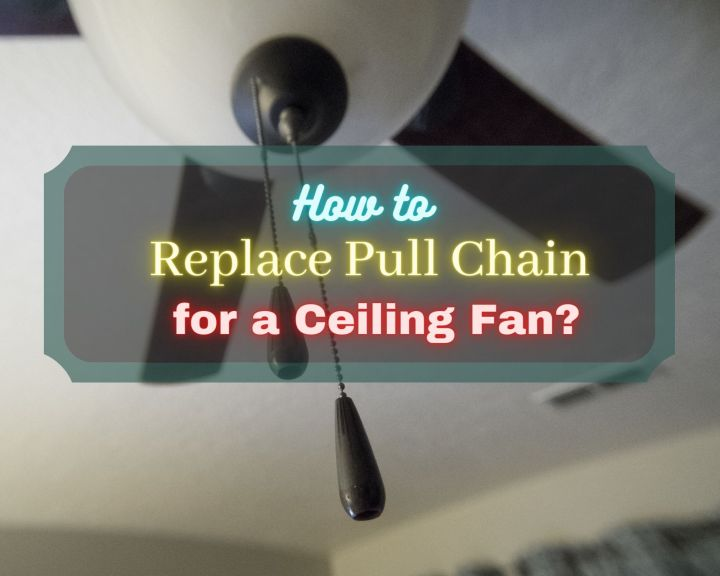 How to replace pull chain