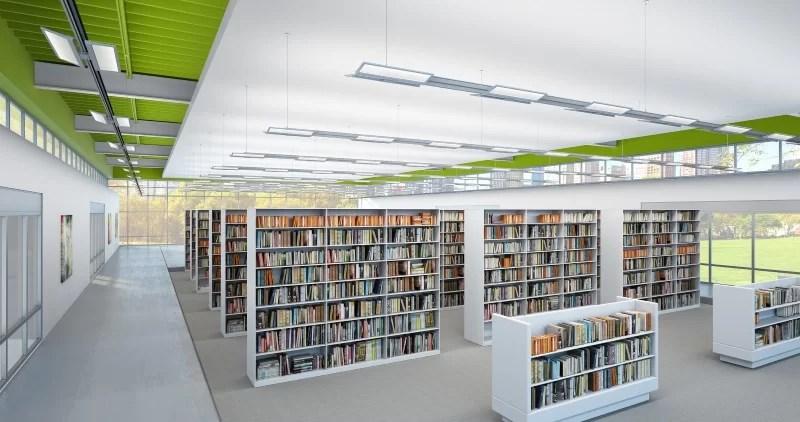 Library Stack Lighting 101 Lightnow