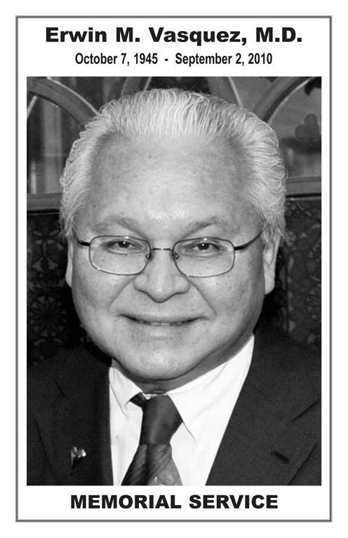 Portrait of Light Of The World Clinic founder Erwin M. Vasquez M.D.