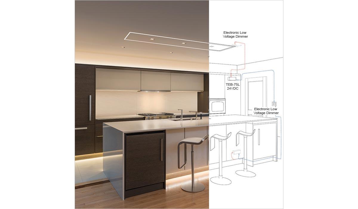 how to light a kitchen lightology