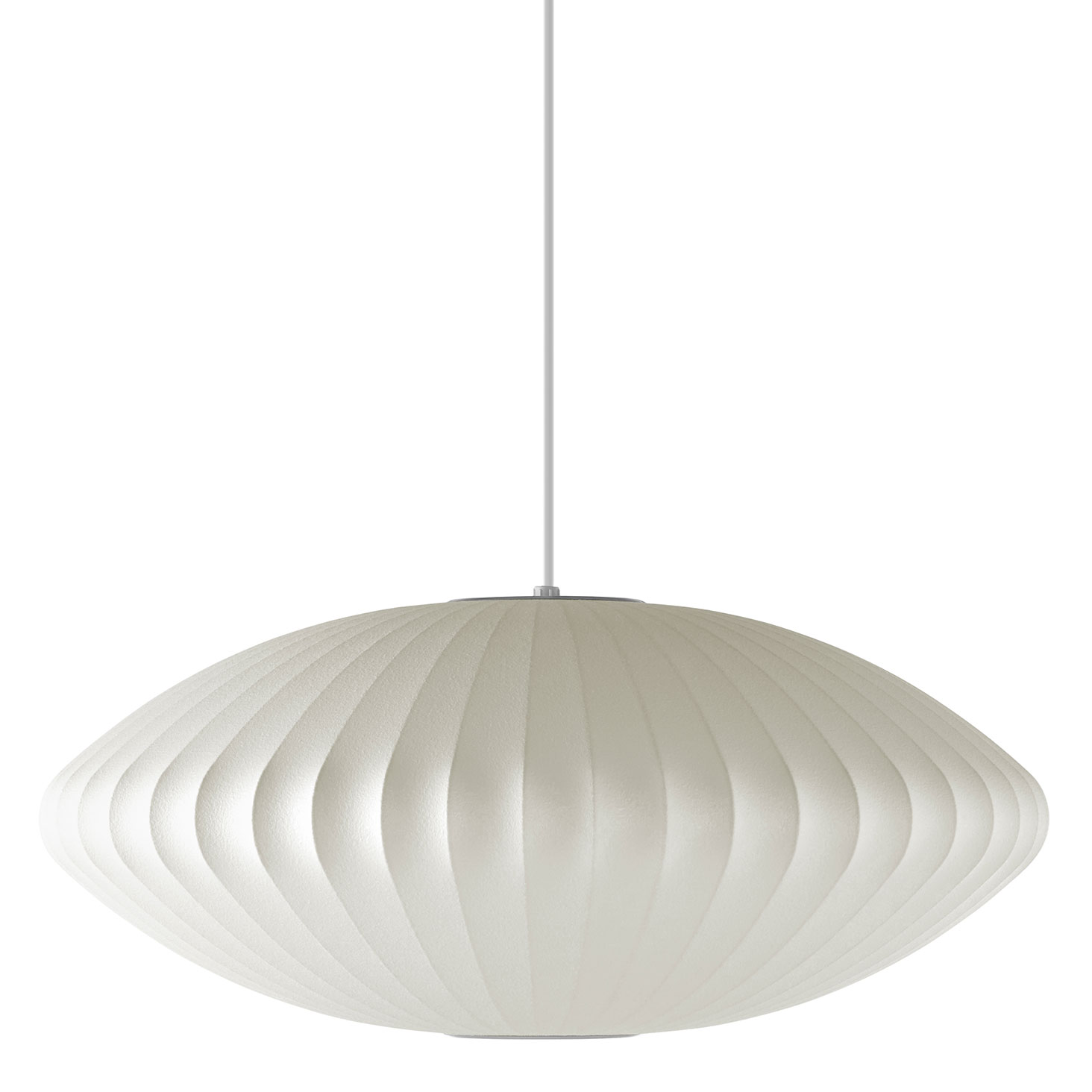 saucer pendant by nelson bubble lamps h763s10bns